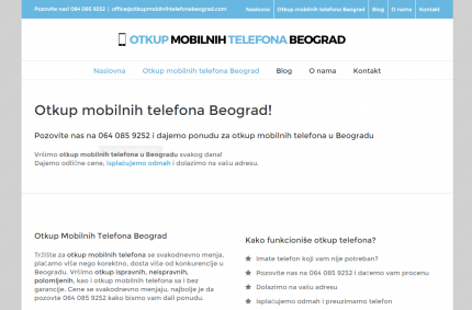 Otkup Mobilnih Telefona Beograd