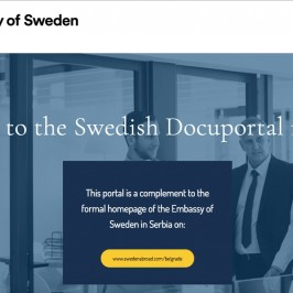 Swedish DocuPortal
